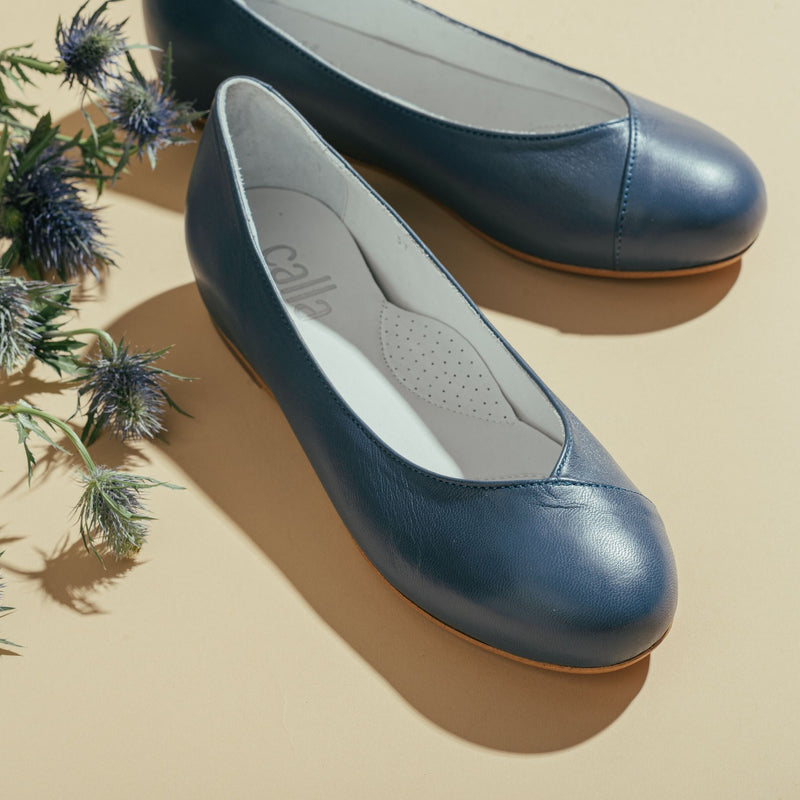 blue flats for bunions
