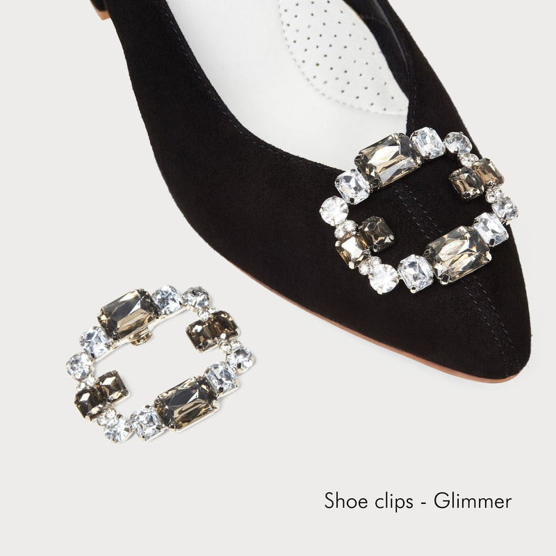 glimmer shoe clips