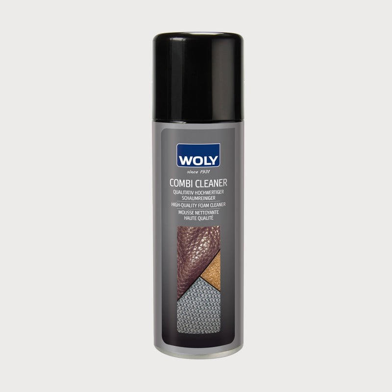 can of cleaning mousse for leather and suede
