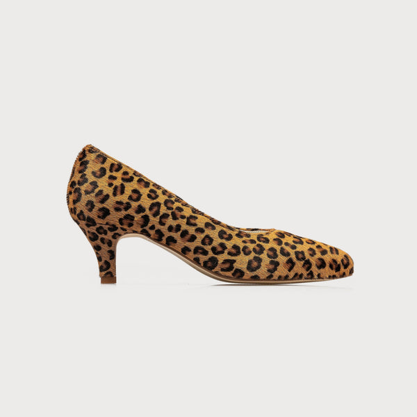 leopard print kitten heel shoes bunions wide feet