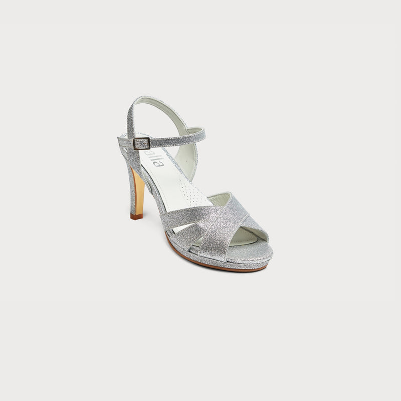 comfortable shoes bunions silver glitter heels stylish comfortable