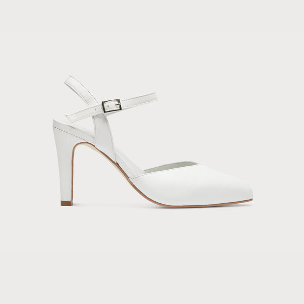 white leather heels bunions wide feet comfort style