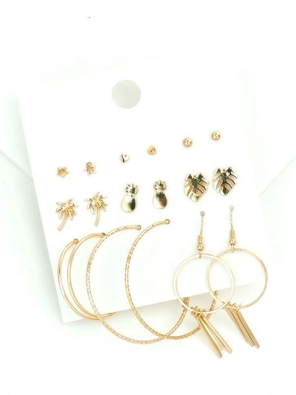VIRGIN ISLAND ASSORTED EARRING SET
