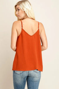 RUST BUTTON DOWN TANK