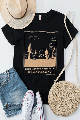 WILDLEY DREAMING GRAPHIC TEE