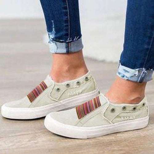 Women Flat-Bottomed Casual  Shoes