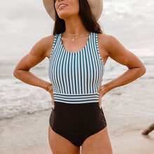 Load image into Gallery viewer, One Piece Backless Swim Suit