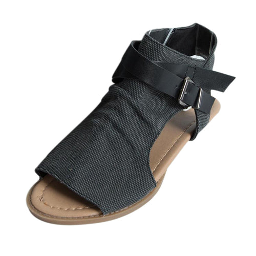 Hollow Out Open Toe Sandals