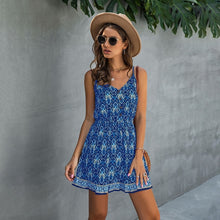 Load image into Gallery viewer, Button Front Mini Sundress