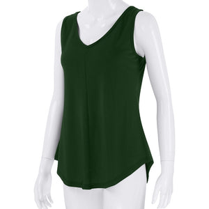 Casual Vest Tank Top