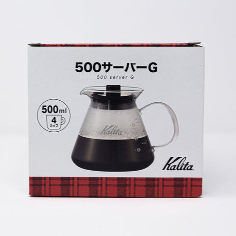 Kalita 500ml Glass Coffee Pot