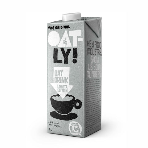 Oatly Barista Edition Oat Milk