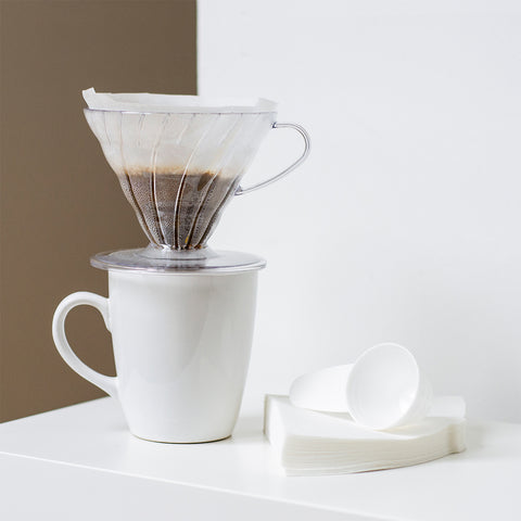 Hario V60 Plastic Coffee Dripper 02 Set With Filters
