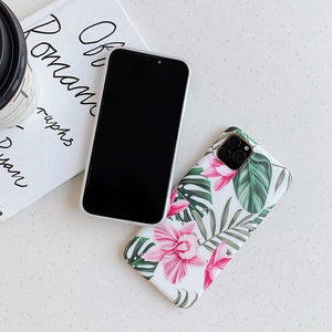 Floral Art iPhone Case - iPhone 6 to 11 Pro Max