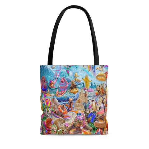 Beach Mania Tote Bag