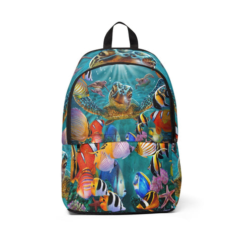 Unisex Fabric Backpack - Tiny Bubbles