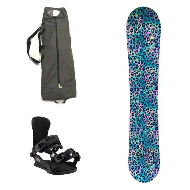 Kyma Animal Women Snowboard Package