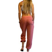 Kyma Sweatpants Washed Pomegranate