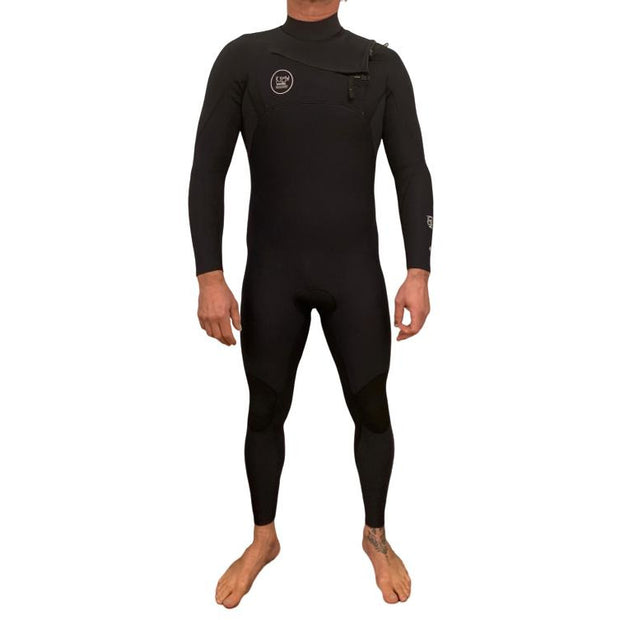 Kyma Fast Dry 4/3 Thermal Chest Zip -Men  Wetsuit - Kyma Surflife