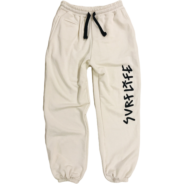 Kyma Sweatpants White - Kyma Surflife