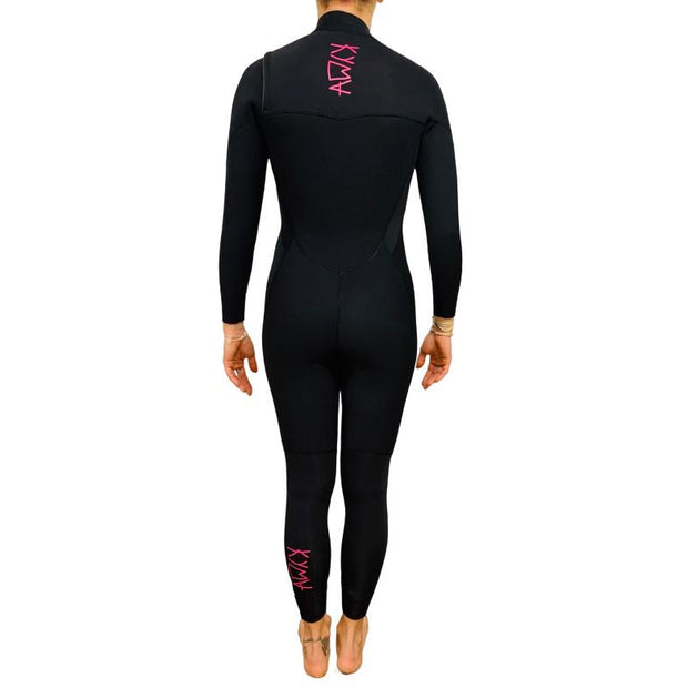 Kyma Fast Dry 4/3 Thermal Chest Zip - Women Wetsuit - Kyma Surflife