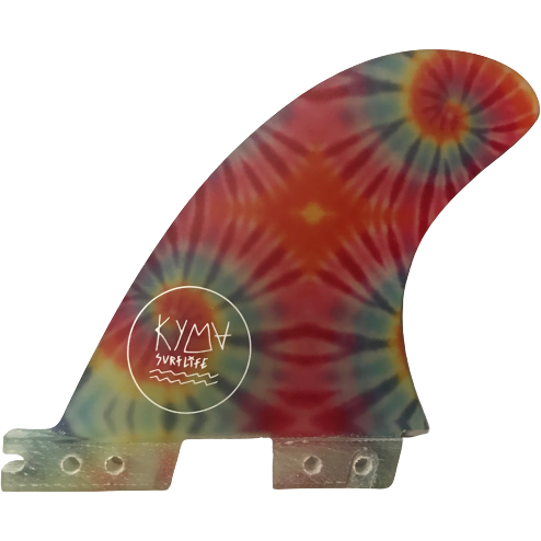 Kyma Ultraglass Side Fins FCS II Tie Dye
