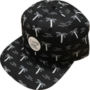 Kyma Snapback Hat Palm Tree