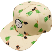 Kyma Snapback Hat Hula Dancer