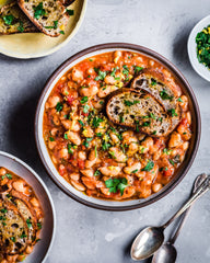 Vegan Instant Pot White Bean Stew