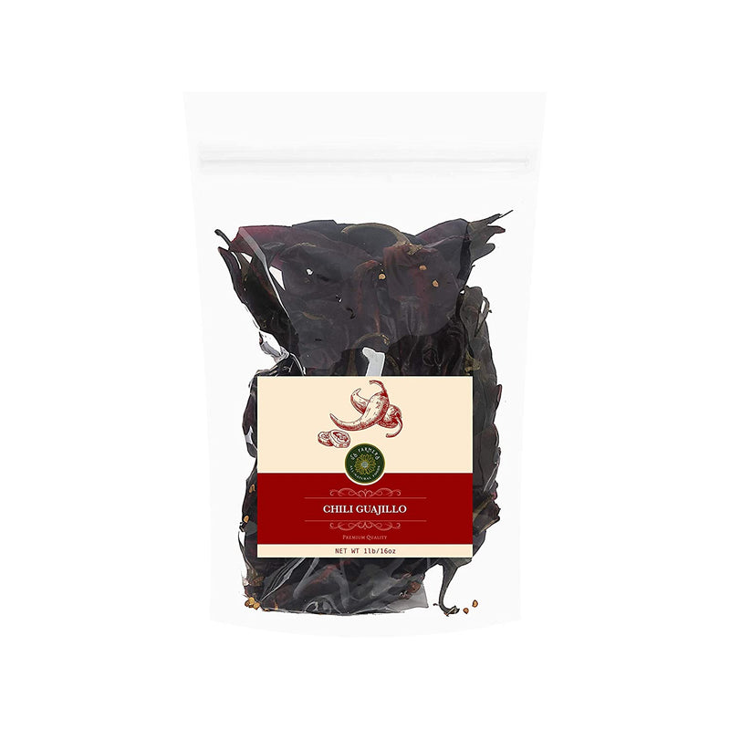 Guajillo Chili Pepper 1 lb bag