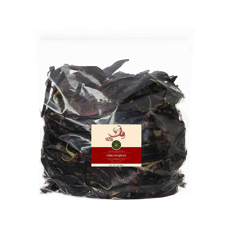 Dried Guajillo Chili Pepper 5 lbs bag