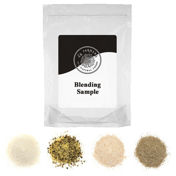 Blending sample