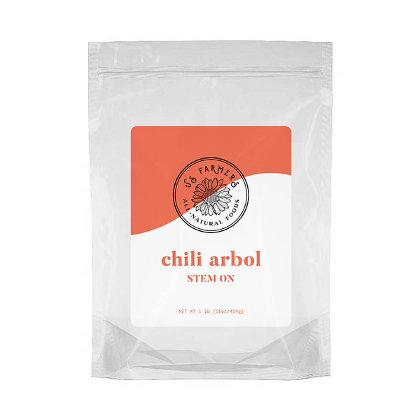 Chili Arbol with Stem