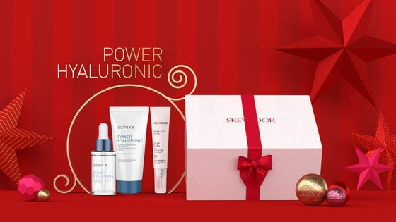 Skeyndor Power Hyaluronic Christmas Box with Emulsion