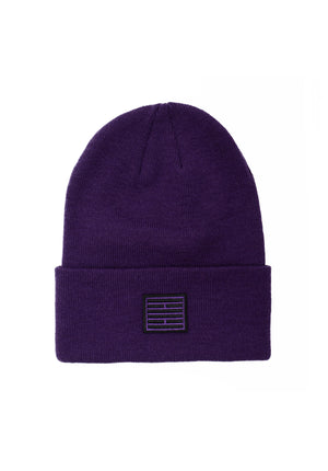 Purple Brick Beanie