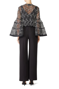 Sheer Lace Janice Top