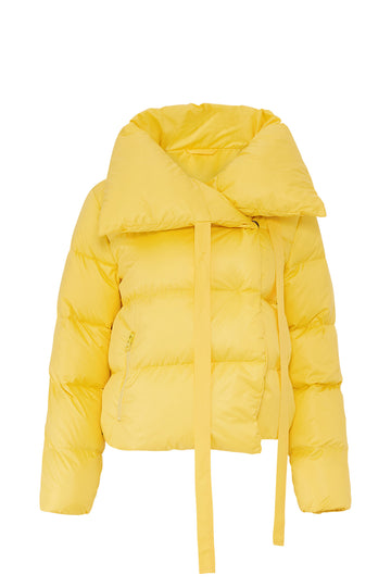Yellow Puffa Jacket
