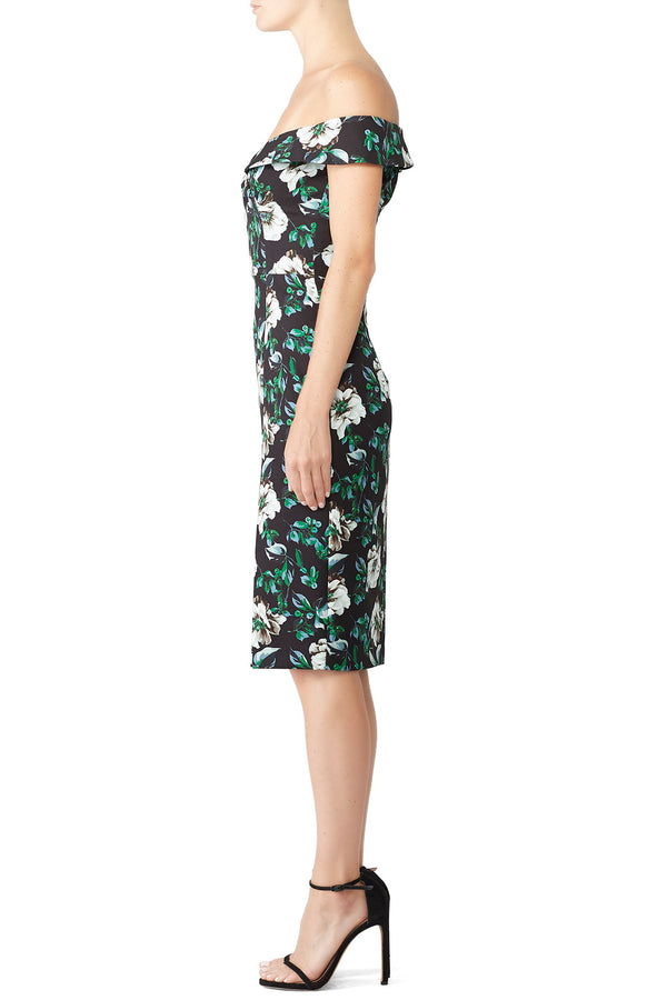 Floral Hepburn Sheath