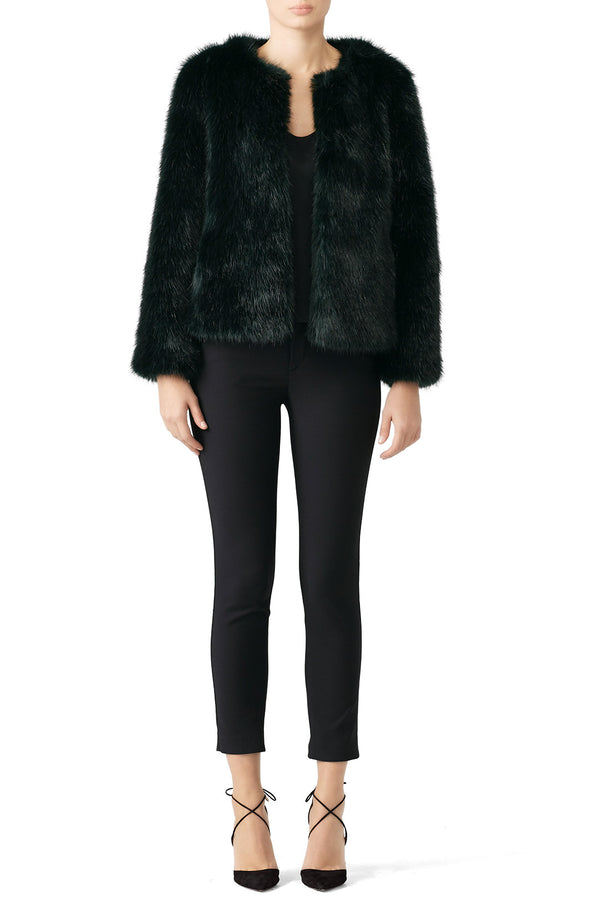 Waddy Faux Fur Coat