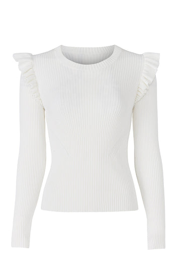 White Sloann Sweater