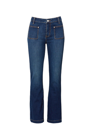 The Cropped Boot Cut Jeans