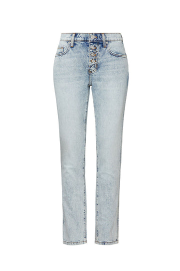 The Zig Zag Fling Rigid Jean