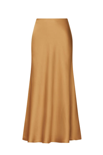 Long Bias Slip Skirt