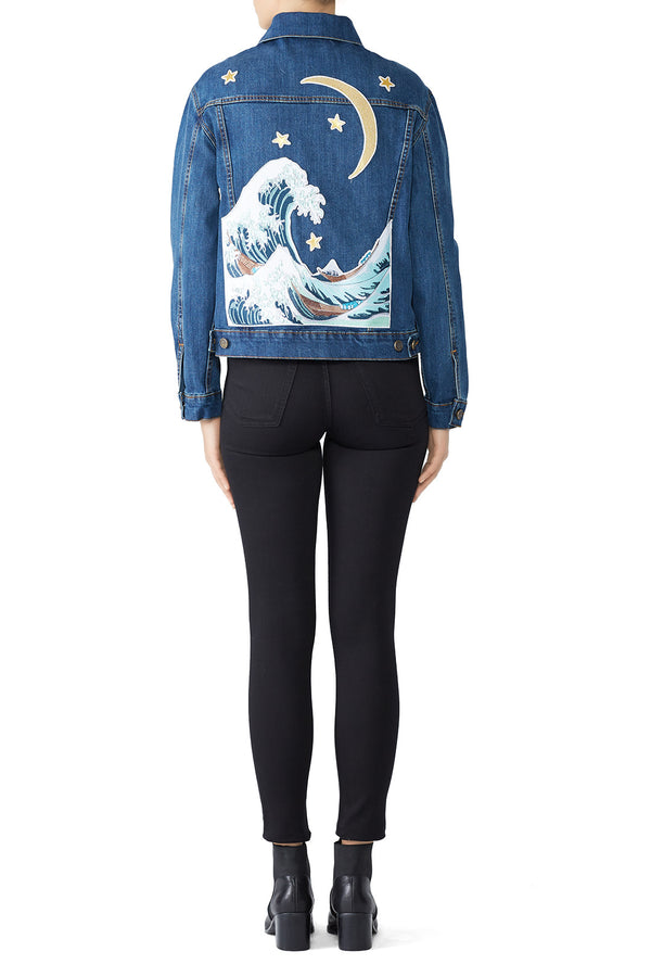 The Great Wave Denim Jacket