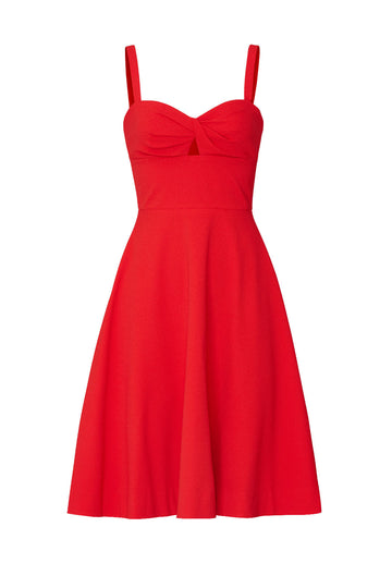 Red Bianca Sweetheart Dress