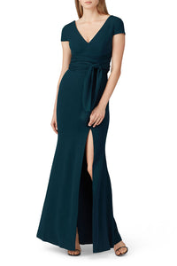 Evie Pine Gown