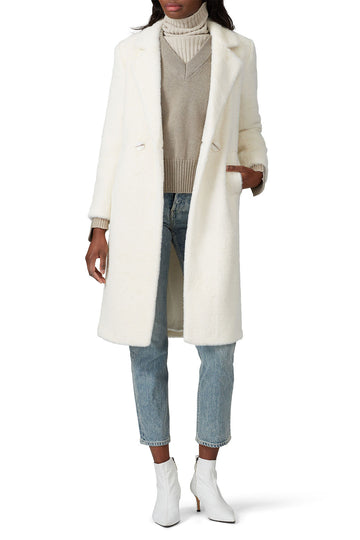 Faux Shearling Joy Coat