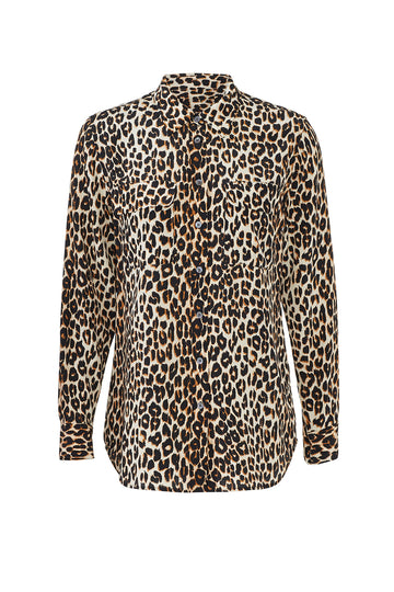 Leopard Slim Signature Shirt