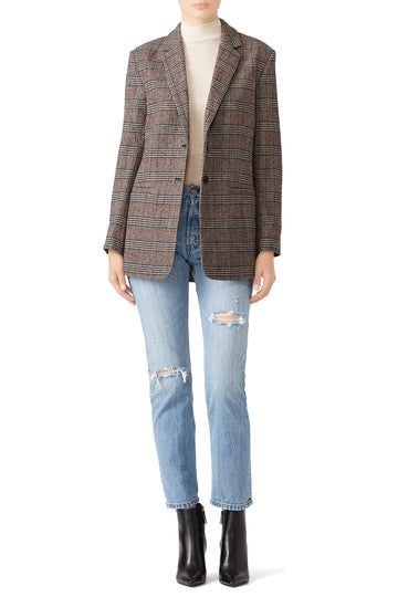 Plaid Billie Blazer