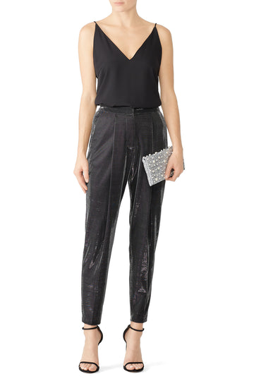 Metallic Easton Pants